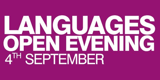 Languages Short Courses Open Evening