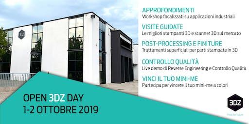 La stampa 3D a servizio delle officine meccaniche - OPEN 3DZ DAY - 1 ottobre 2019