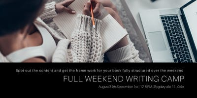 Full Weekend Book Writing Camp