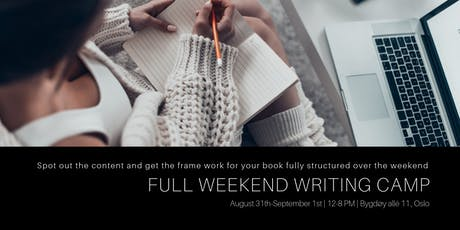 Full Weekend Book Writing Camp tickets