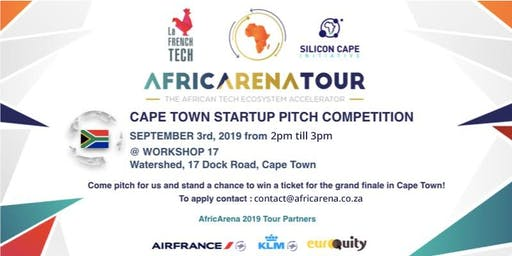 Cape Town Startup Pitch Event - AfricArena Tour 2019