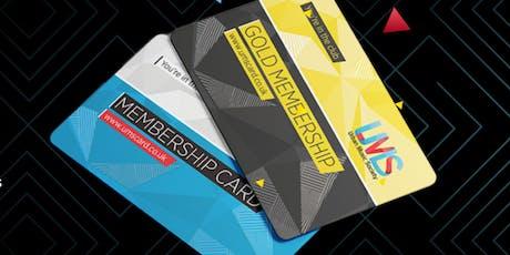 UMS Membership Card tickets