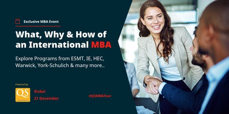 MBA Networking Day – Dubai 21 September tickets