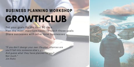 GrowthCLUB: 90 Day Business Planning - September  tickets
