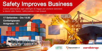 Safety Improves Business - Arzignano (VI)