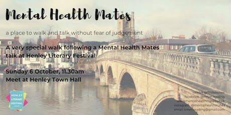Mental Health Mates - Henley Literary Festival tickets