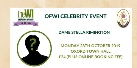 An Evening with Stella Rimington tickets