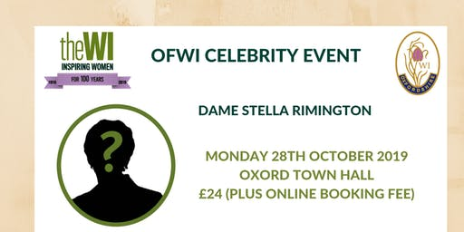 An Evening with Stella Rimington