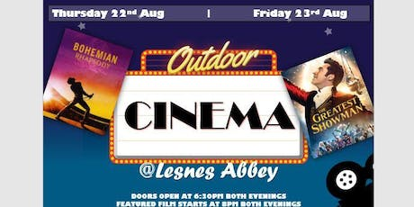 Outdoor Cinema at Lesnes Abbey: Bohemian Rhapsody & The Greatest Showman tickets
