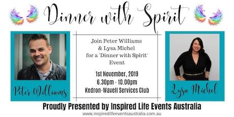 Dinner with Spirit tickets