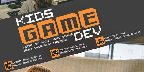 Kids Game Dev Term 3 Holiday Program at the Breakaway E-sports Center tickets
