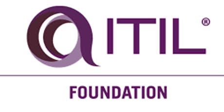 ITIL V3 Foundation 3 Days Training Virtual Live in Calgary tickets