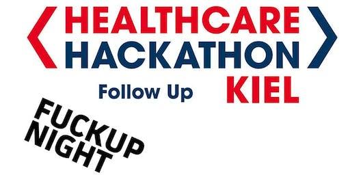 Fuckup Night beim Healthcare Hackathon Follow Up