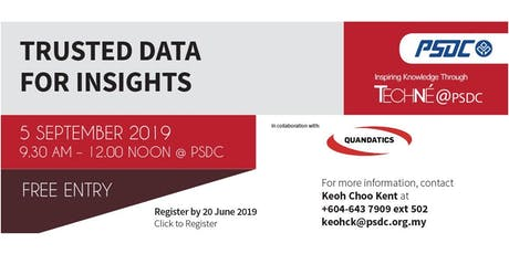 Techné@PSDC - Trusted Data for Insights tickets