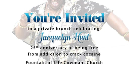 Private Brunch - 25 years & The Marathon Continues