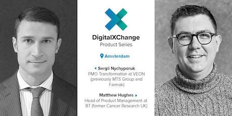 DigitalXChange Product Series Amsterdam tickets