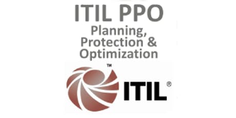 ITIL® – Planning, Protection And Optimization (PPO) 3 Days Training in Hamilton tickets