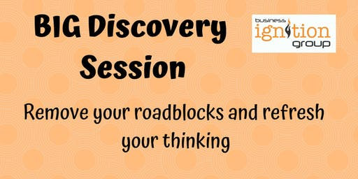 The BIG discovery session - discover the hidden gems in your business