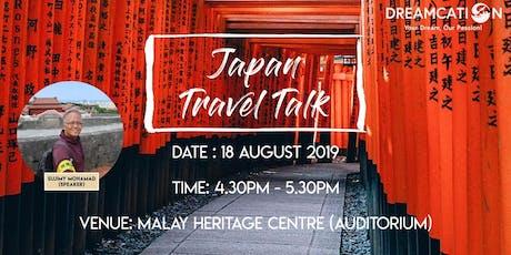 Japan Travel Talk tickets