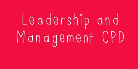 Kids Allowed Leadership and Management CPD tickets