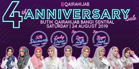Ulang Tahun ke 4 Butik Qaira Hijab Bangi Sentral tickets