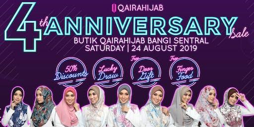 Ulang Tahun ke 4 Butik Qaira Hijab Bangi Sentral