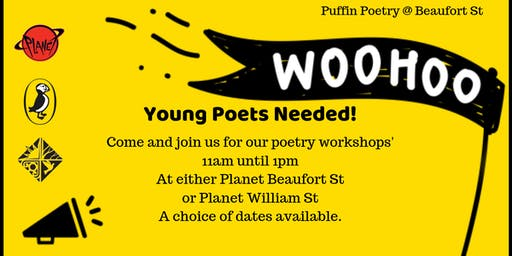 Puffin Poetry Workshop Planet Beaufort St