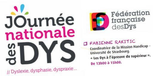 JOURNEE DES DYS - 05/10/19 - Conférence Fabienne RAKITIC  - 13H à 15H