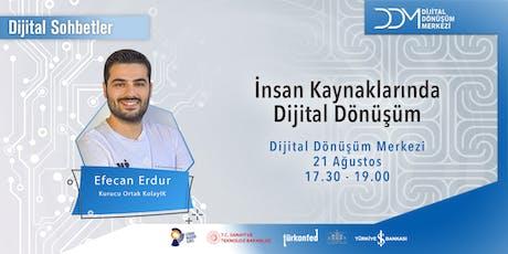 DDM Dijital Sohbetler: İnsan Kaynaklarında Dijital Dönüşüm tickets