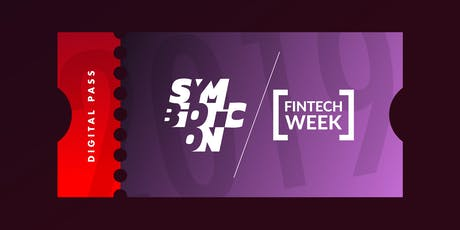 Symbioticon & Fintech Week 2019 — DIGITAL PASS billets