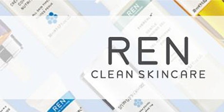 REN Skincare discovery FREE FACIAL (Fee fully redeemable on purchase on the day) tickets
