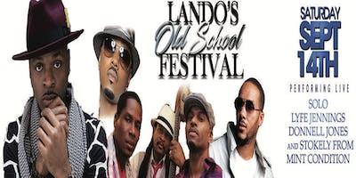 Lando's Old School Music Festival Solo,Lyfe Jennings,Donnell Jones &Stokley