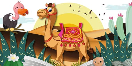 Story Explorers: Dramatic Deserts, Beeston Library tickets