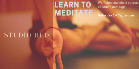 Learn Meditation at Studio Red Yoga  tickets