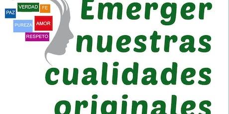 CONFERENCIA GRATUITA: EMERGER NUESTRAS CUALIDADES ORIGINALES entradas