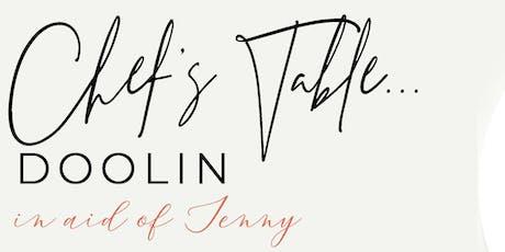 Chef's Table Doolin tickets