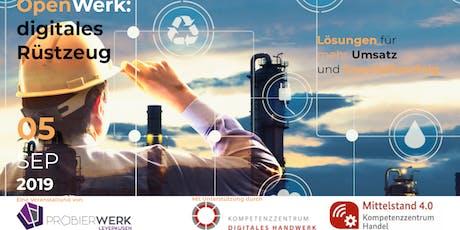 OpenWerk: digitales Rüstzeug Tickets