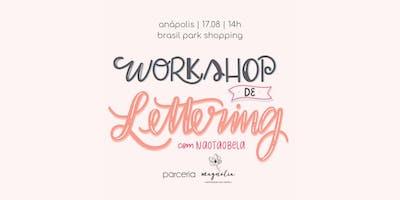 Workshop de Lettering em Anápolis com @naotaobela