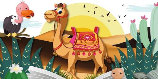 Story Explorers: Dramatic Deserts, Hucknall Library