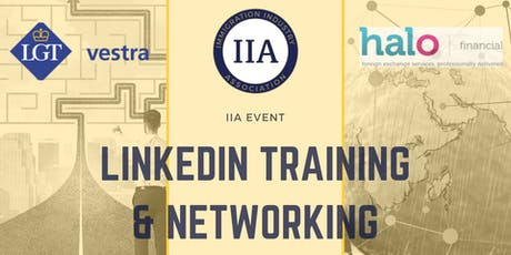 IIA September Event - Halo Financial and LGT Vestra Networking and LinkedIn Training Brunch tickets