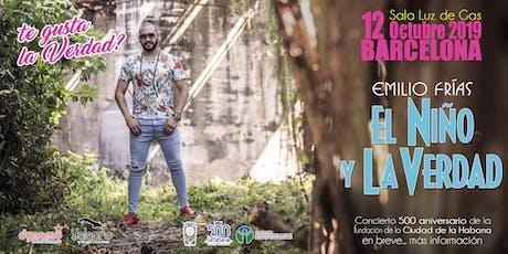 """concierto de """"EL NIÑO Y LA VERDAD"""" entradas"""