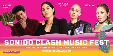 4th Annual Sonido Clash Music Fest tickets