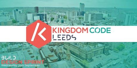 Kingdom Code Leeds: Design Sprint tickets