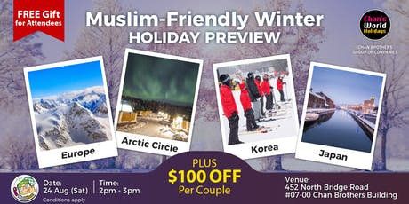 Muslim-Friendly Winter Holiday Preview tickets