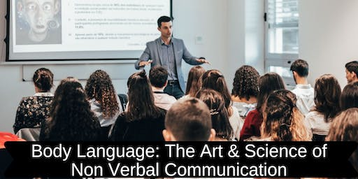Body Language: The Art & Science of Non Verbal Communication (PERTH)