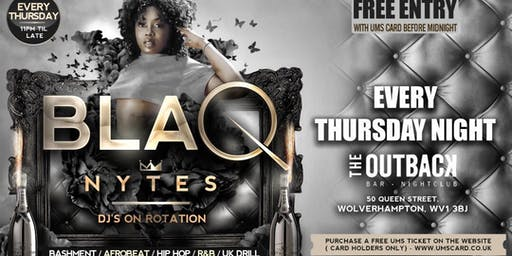 Blaq Nytes Official Launch Night- Wolverhampton
