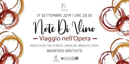 Note di Vino - Viaggio nell'Opera