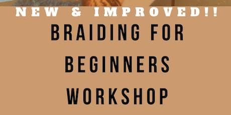 Basic Braider Workshop tickets