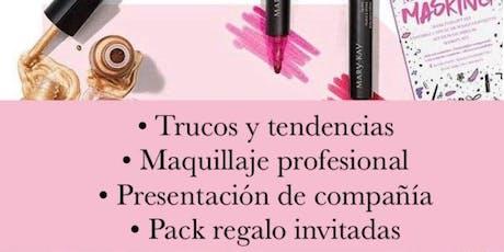 Tarde de invitadas: masterclass de maquillaje tickets