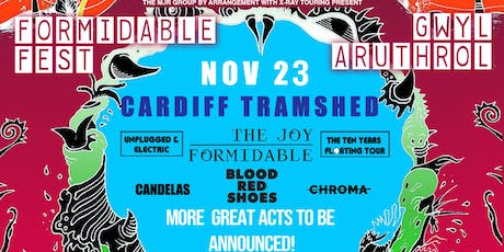 Formidable Fest- The Joy Formidable Plus Support (Tramshed, Cardiff) tickets